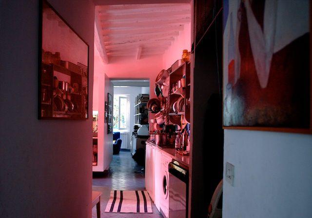 verso la cucina