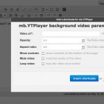 The WordPress mb.YTPlayer plugin has been updated to v. 0.5