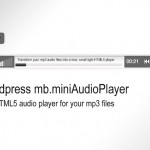 Wordpress mb.miniAudioPlayer, a short tutorial